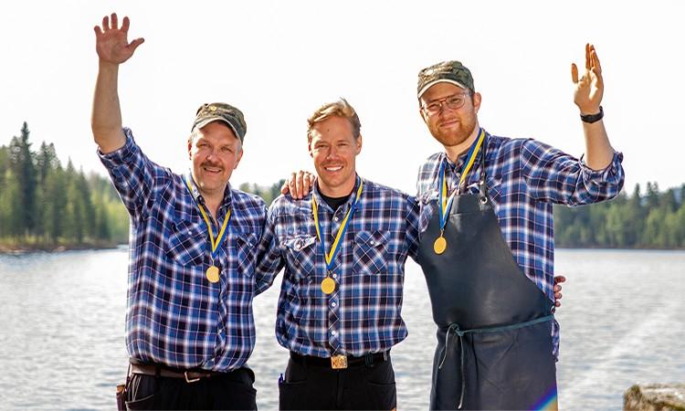 Bergmans fisk & vilt har vunnit flera medaljer i SM mathantverk