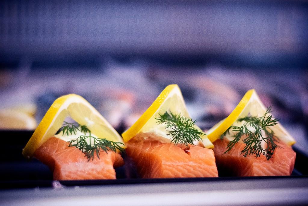 Fisk citron dill